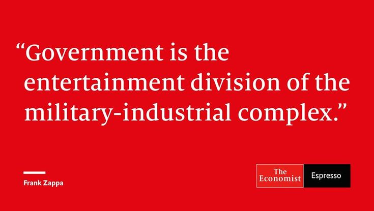 The Economist puts out a daily quote. Today's is pretty amazing.