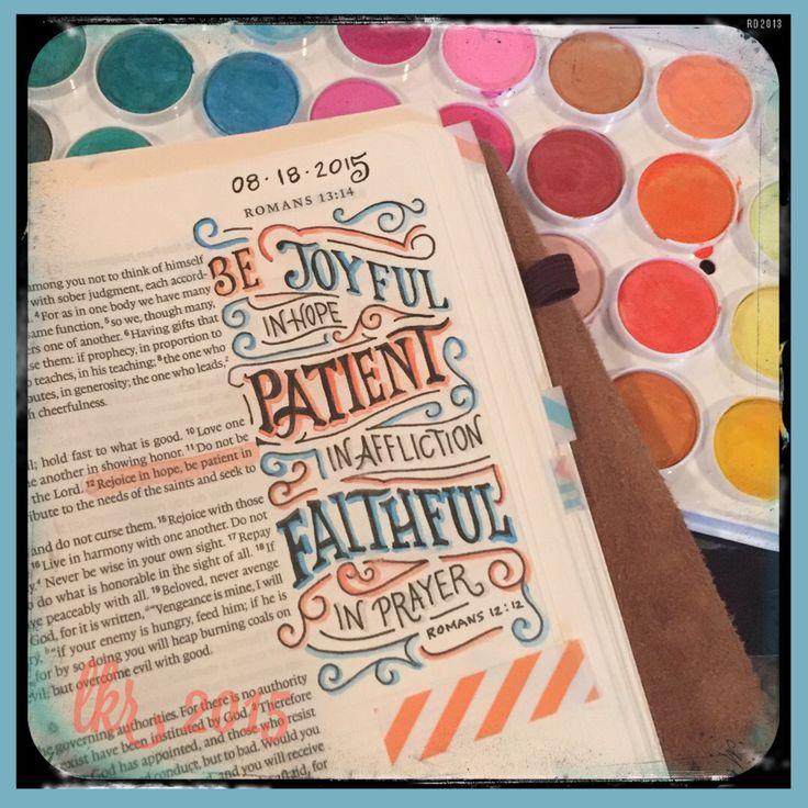 137 best romans images on pinterest for Hand lettering bible journaling
