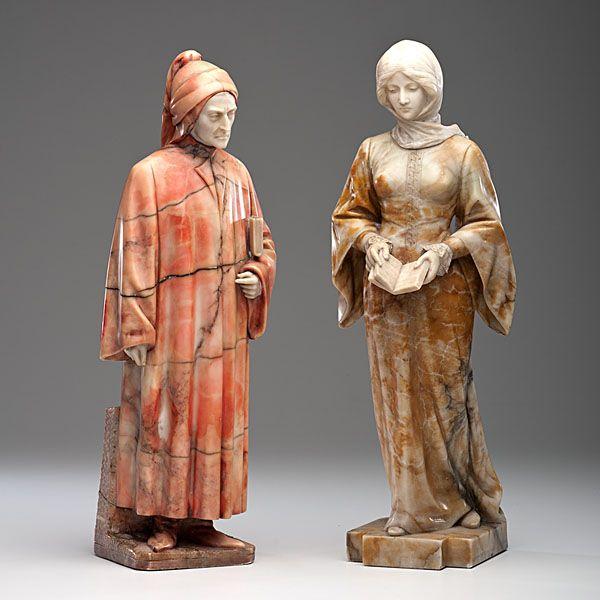 Le Prince Lointain: Giuseppe Gambogi, Dante et Beatrice Portinari.