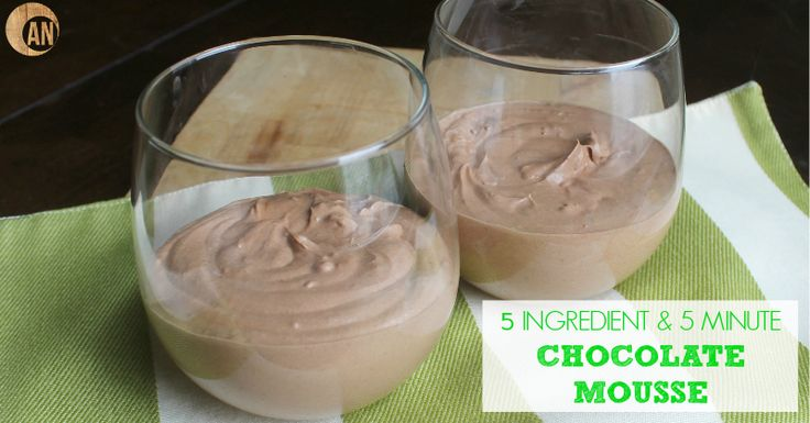 Five Ingredient & Five Minute Chocolate Mousse - Ancestral Nutrition