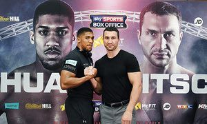 Wembley 29-April-17 Anthony Joshua vs Wladimir Klitschko