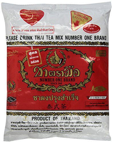 1 X The Original Thai Iced Tea Mix ~ Number One Brand Imported From Thailand! 400g Bag Great for Restaurants That Want to Serve Authentic and High Quality Thai Iced Teas. - http://teacoffeestore.com/1-x-the-original-thai-iced-tea-mix-number-one-brand-imported-from-thailand-400g-bag-great-for-restaurants-that-want-to-serve-authentic-and-high-quality-thai-iced-teas/