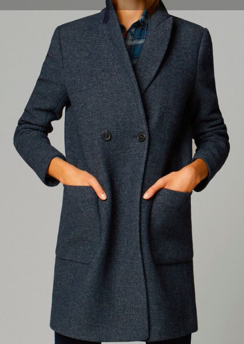 Massimo Dutti - Double breasted coat £195