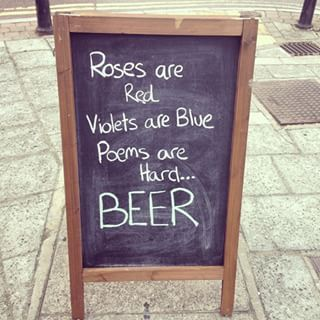 Yes, beer. | 33 Brilliantly Blunt Pub Signs That Will Make You Want A Drink