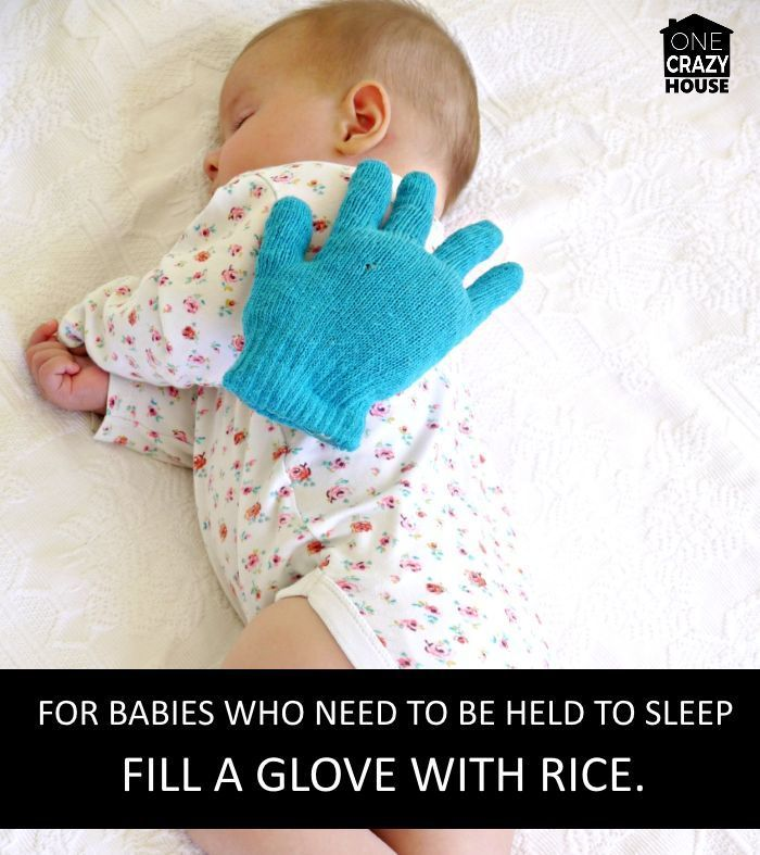 baby hand - a way to help your kids go to sleep