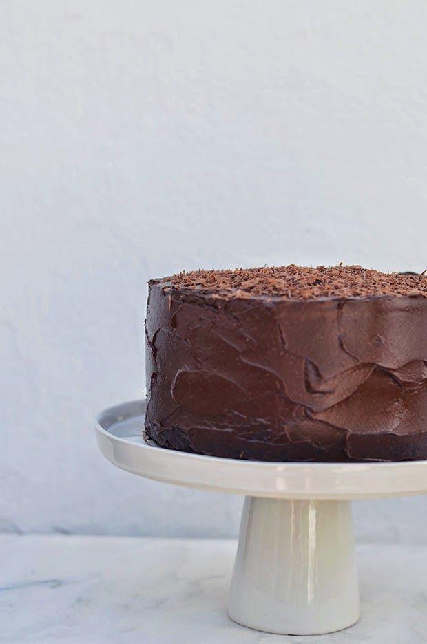 Ananás e Hortelã: Um Bolo de Chocolate para a minha avó