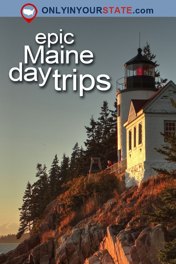 14 Unique Day Trips In Maine That