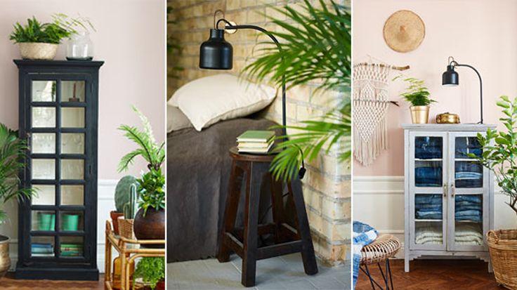 Hon tillverkar snygga möbler av återvunnen teak – se kollektionen