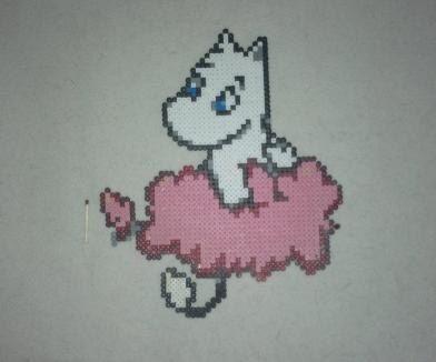 Cute Moomin Troll bead sprite figure par AllSprite sur Etsy, $14.00