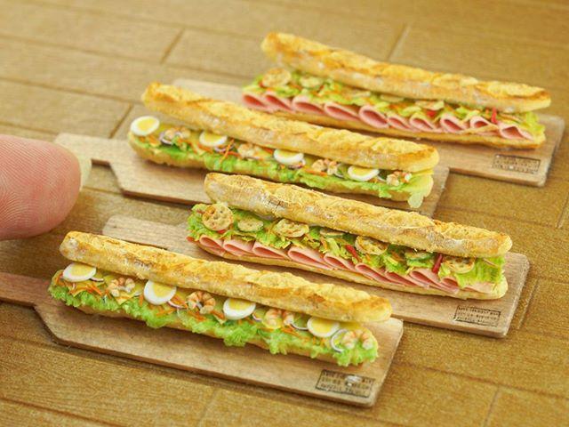 itsy-bitsy: subway sandwiches