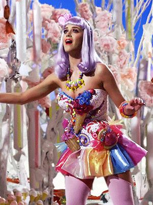 This is my favourite katy perry costume which i will be trying to immitate as it is covered in colourful sweets & glitter which i think is the biggest contrast to zombies.