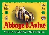 Abbaye d'Aulne Val de Sambre sur lie Sterkte : 7 % Een amberkleurig bier, lichtzure smaak met een lichtzoete toets.