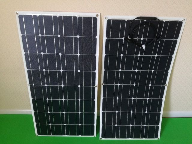 100w Etfe Flexible Solar Panel With Rear Junction Box Or Front Conjunction Box Review Solar Panels Flexible Solar Panels Solar