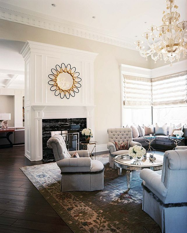 Chic Elegance Of Neutral Colors For The Living Room 10 Amazing Examples: 17 Best Ideas About Family Room Chandelier On Pinterest