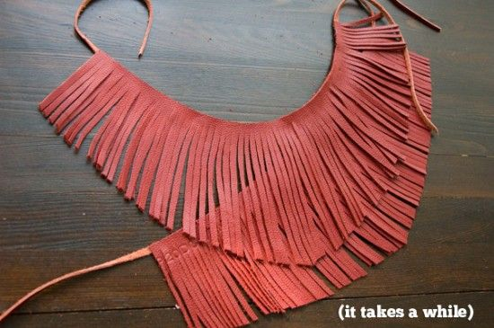 Make fringe for your boots! | Knuckle Salad