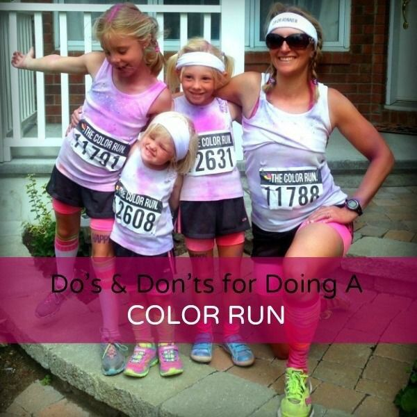 DO have fun and other Do's & Don'ts for Doing a Color Run from http://fitnesscheerleader.com/fitness/running/dos-donts-for-doing-a-color-run/