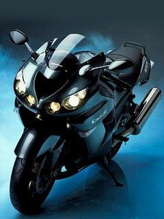 i want a kawasaki ninja so bad, it may not be the coolest bike ever but i love them!