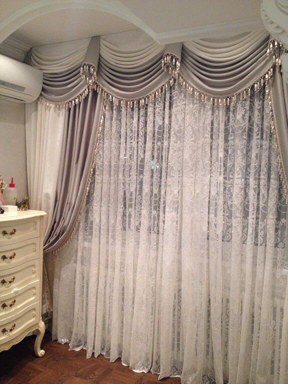 Another gorg window treatment!