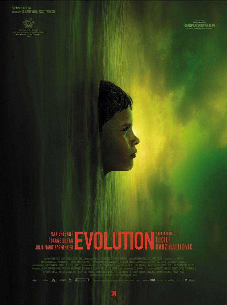 French poster for EVOLUTION (Lucile Hadzihalilovic, France, 2015)