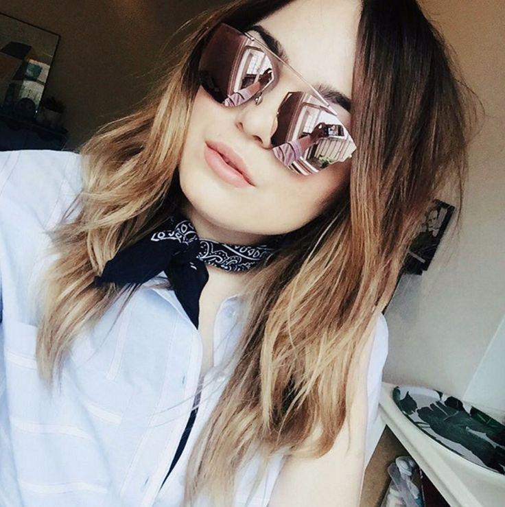 Тенденция: зеркальные солнцезащитные очки 15