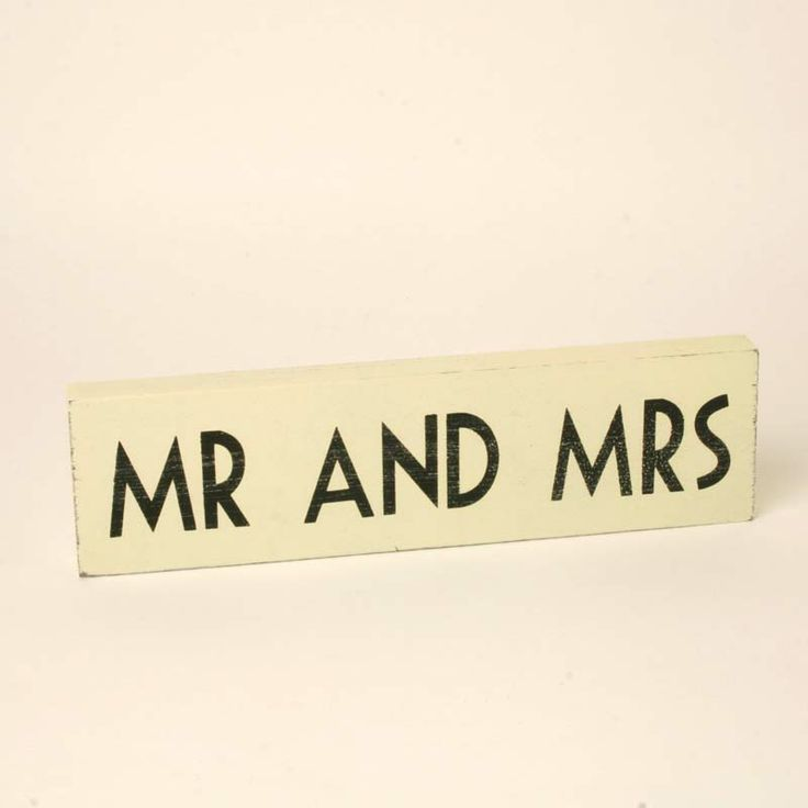 East Of India Mr Mrs Wooden Sign Wedding Signs Vintage