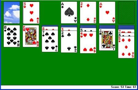 Solitaire : @Topyaps Solitaire is the most unique of all card games since you can play it alone too. http://topyaps.com/top-10-popular-card-games