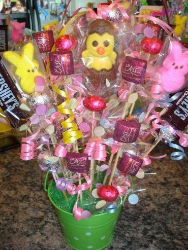 candy crafts ideas 17 best images about easter basket bouquet ideas on 1220
