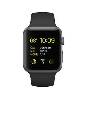 Electronics LCD Phone PlayStatyon: Apple Watch Sport 42mm Space Gray Aluminum Case wi...