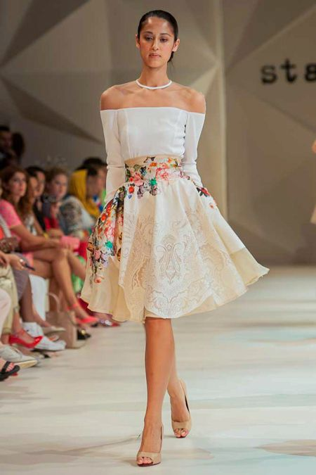 See the collection from the Starch Foundation fashion show at Dubai's Fashion Forward Season 2.