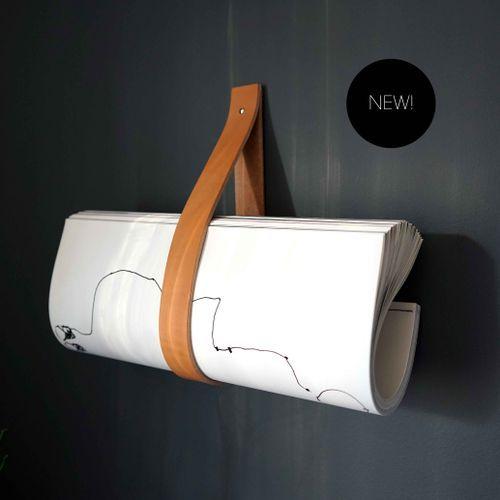Strap / Light Brown - Organic Leather Hanger
