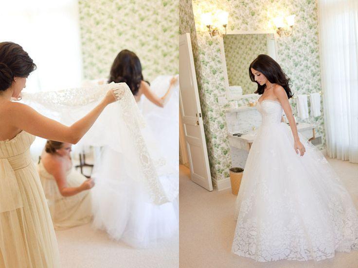 simple: Wedding Dressses, Oscar De La Renta, Lace Wedding Dresses, Wedding Ideas, Dream Wedding Dresses, Court Wedding