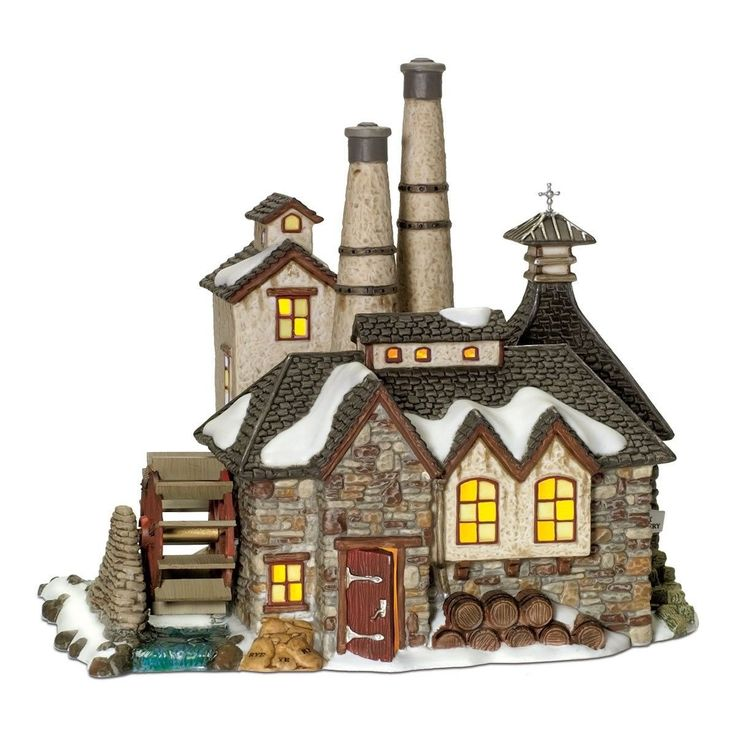 Department 56 Dickens Village London Gin Distillery Collection Accessory Decor #allproceedsgotohelpthedisabled