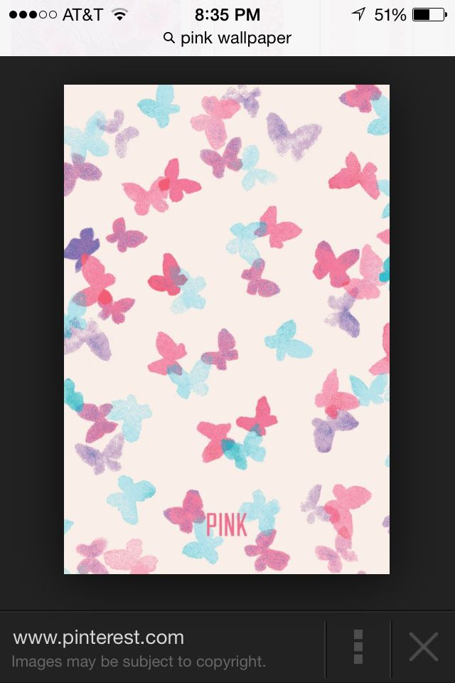 I love these cute little butterflies! Wallpaper for your