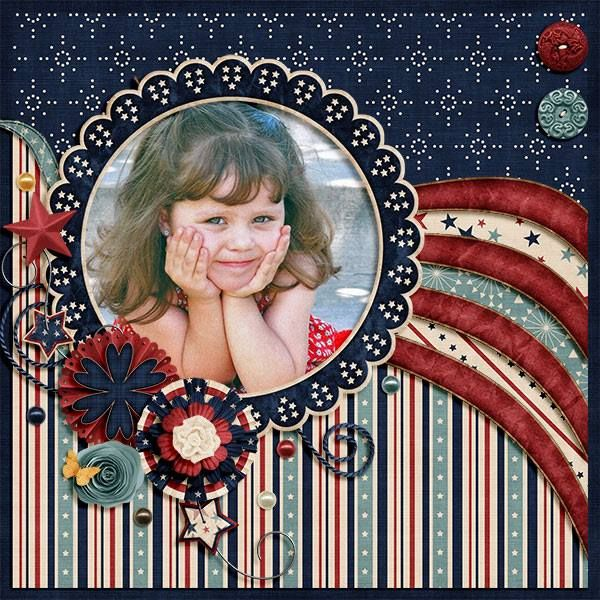 GingerScraps :: Kits :: Let Freedom Ring Digital Scrapbooking Kit