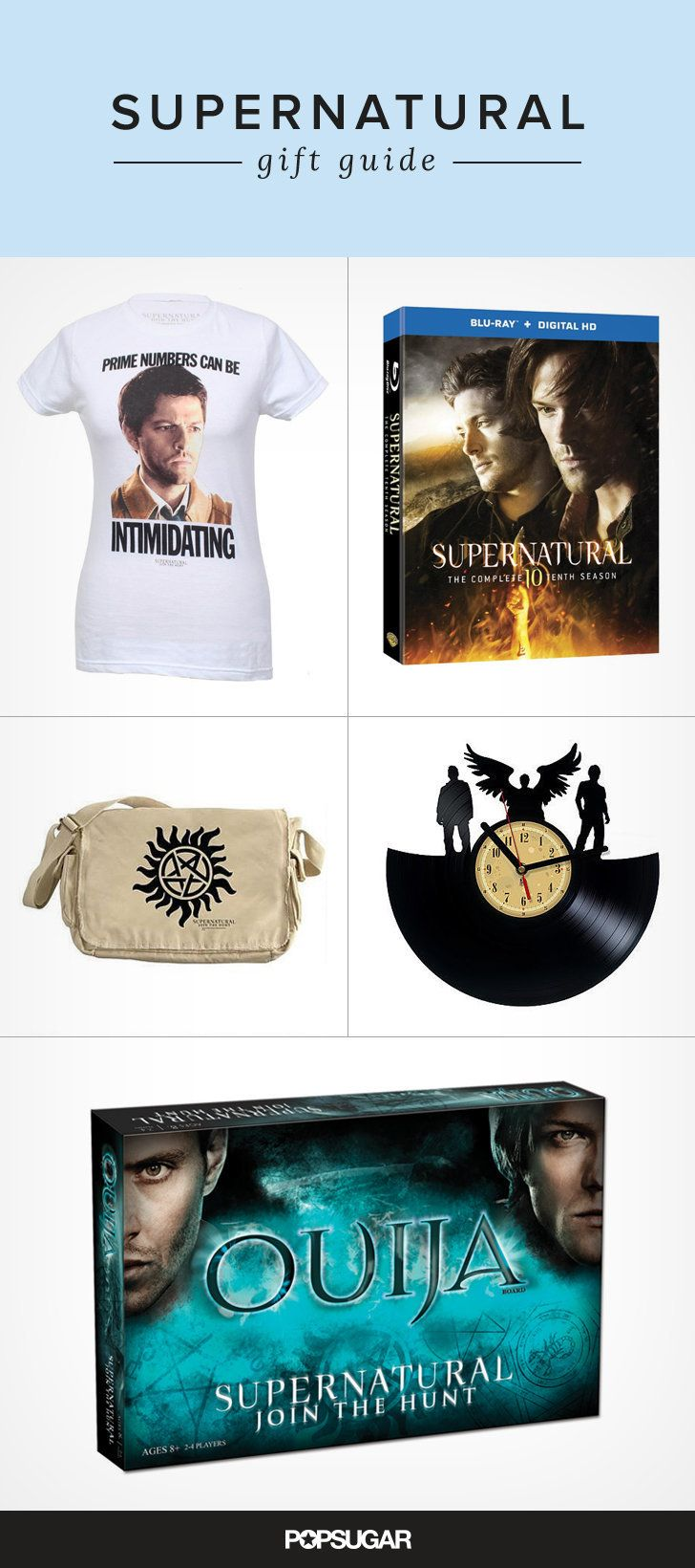 Love Supernatural? You may want some of these gifts for yourself!