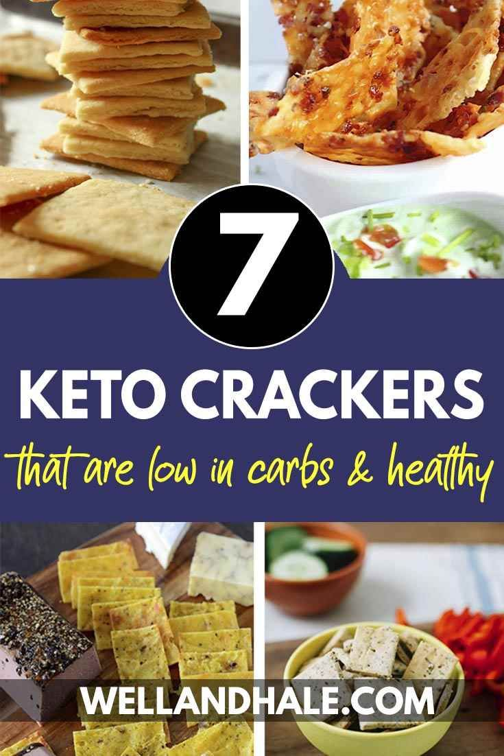 7 Easy And Healthy Keto Crackers You Can Eat On The Keto Diet Side Dish Recipes Healthy Keto Crackers Recipe Low Carb Keto Recipes