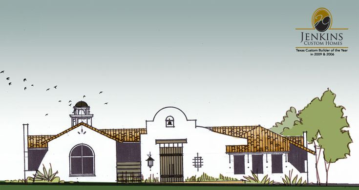mission style architecture | Download Wallpaper Spanish Style ...