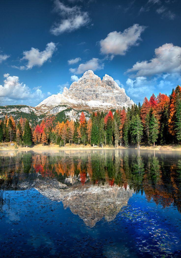 Tre Cime di Lavaredo, Italy #Dolomiti #Dolomites #Dolomiten #Dolomitas #DolomitiHeart