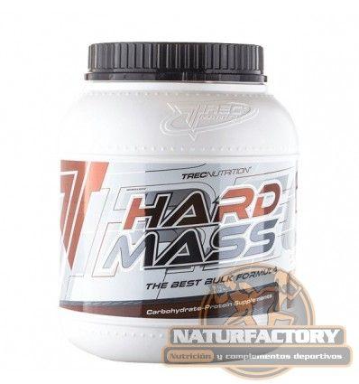 Hard Mass de Trec Nutrition es un suplemento dietético para ganar peso y volumen muscular. Envío Gratis 24h.