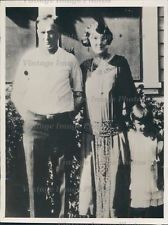 1934 Talkington Modesto Police Station Victim Widow Murder Crime Press Photo