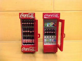 I Love CocaCola: Miniatur kulkas CocaCola