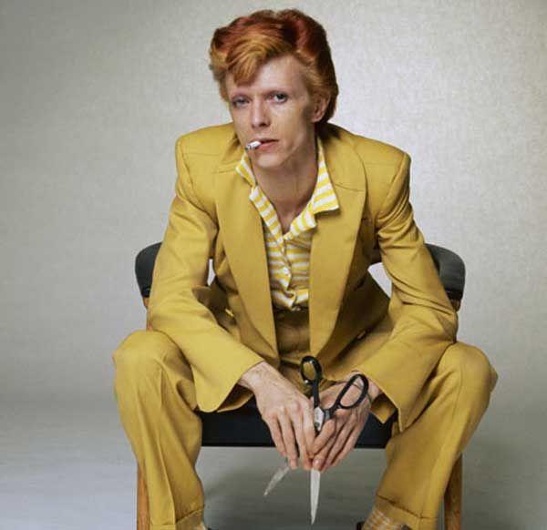 David Bowie - Mustard suit