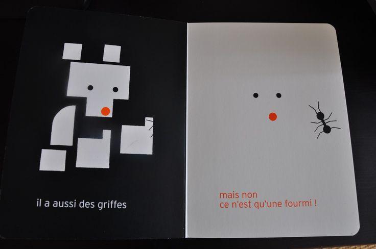 """Olivier Douzou - """"Fourmi"""" Le Rouergue, 2012"""
