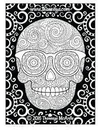 bild ergebnis für halloween sugar skull malvorlagen | kostenlos bedruckbar | calavera