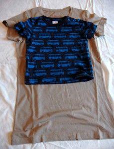 mall - sy en klänning till lillan av en T-shirt