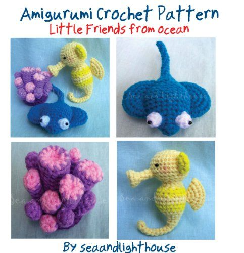 Free Crochet Patterns For Sea Animals : 72 best images about Amigurumis marinos on Pinterest ...