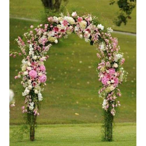 Luuh Rodrigues: Arco de Flores (Casamento ao ar livre)