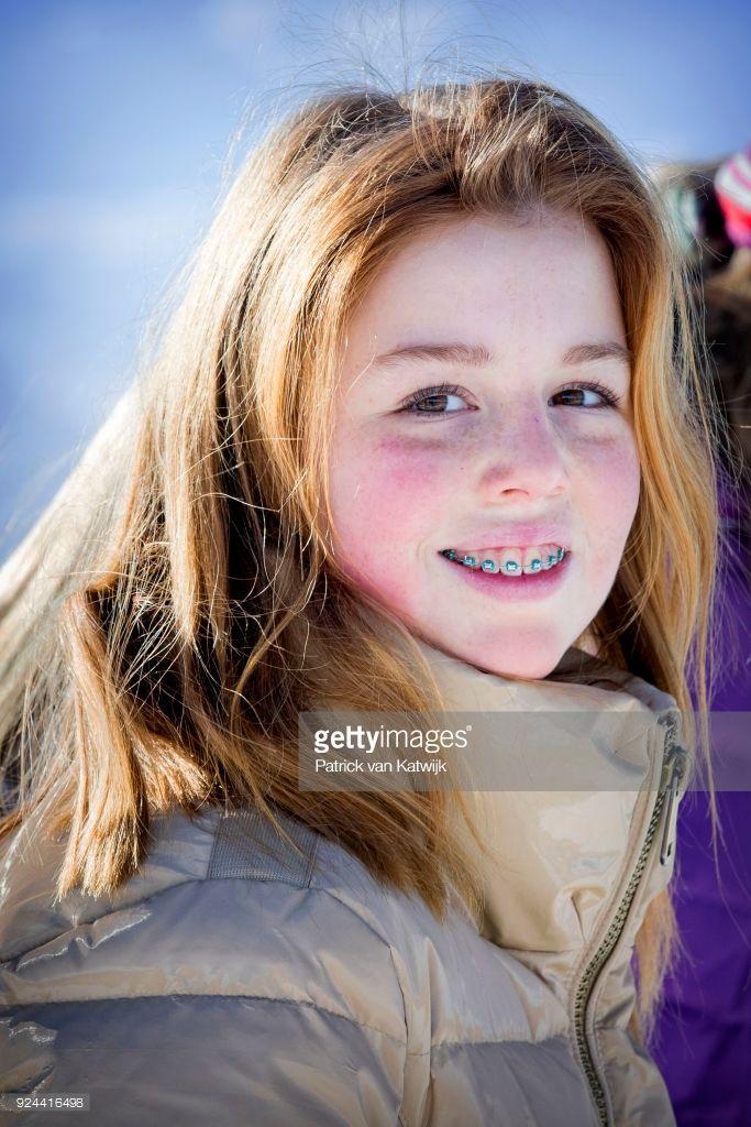 Princesse Alexia, 26 février 2018, Séance de photos pour les vacances de février, Lech, Autriche