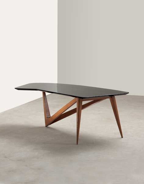 Louis Sognot; Coffee Table, c1954.
