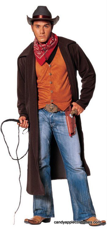 Adult Wild West Cowboy Costume - Candy Apple Costumes